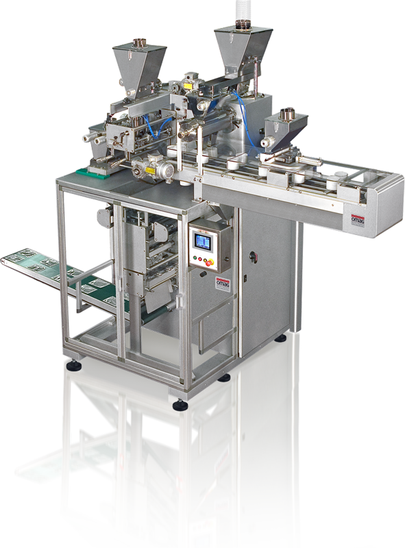 Continuous-motion vertical packaging machine