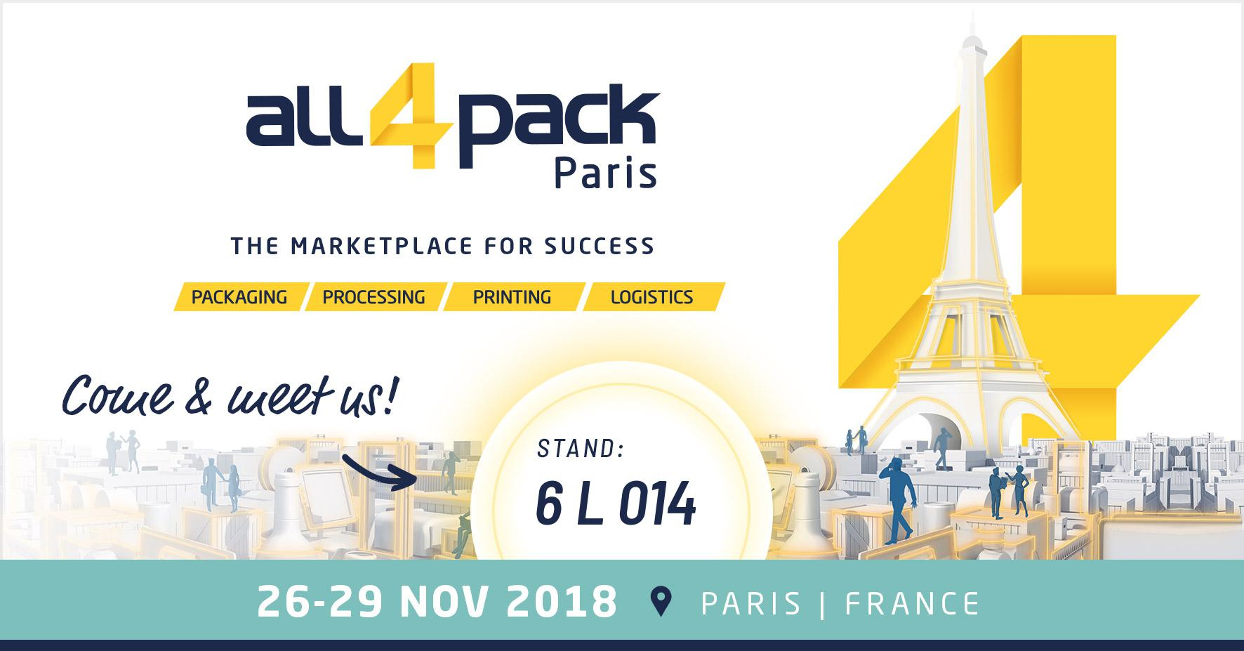 All4Pack Paris 2018