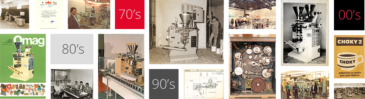 history of packaging machines
