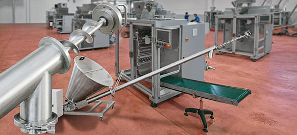 Accessories for packaging machines